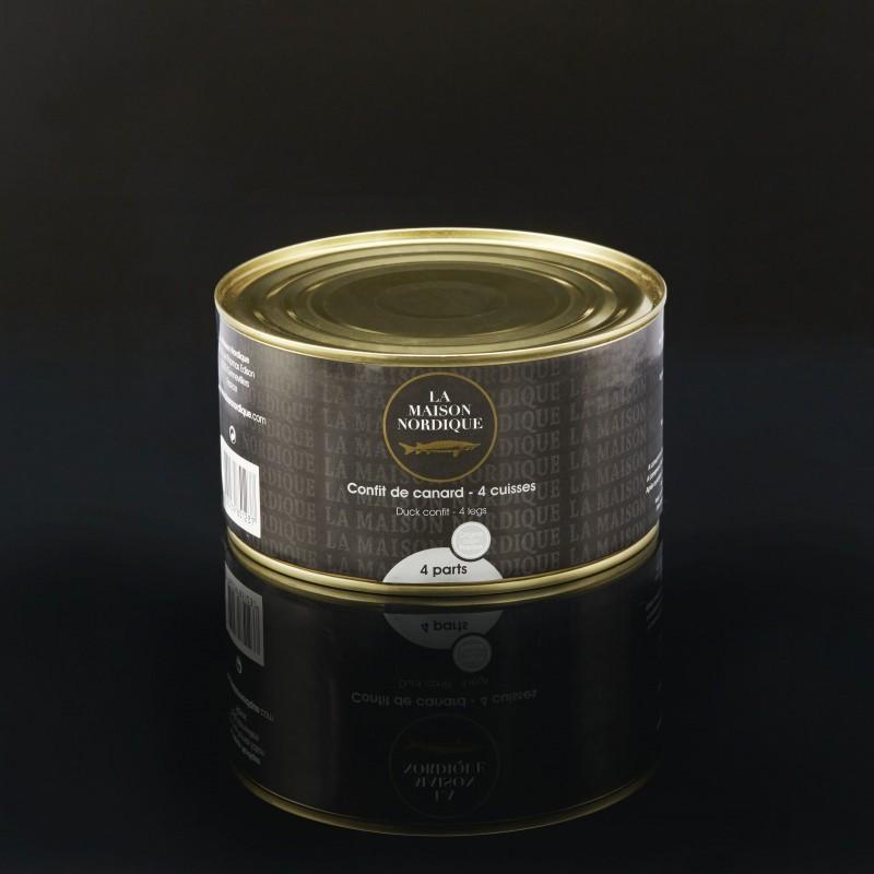 Confit de Canard (4 cuisses) - La Maison Nordique