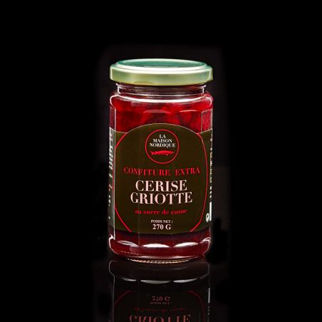 Confiture extra de cerise griotte - La Maison Nordique