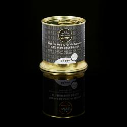 Bloc de Foie Gras de Canard 30% morceaux mi-cuit (3/4 parts) - La Maison Nordique