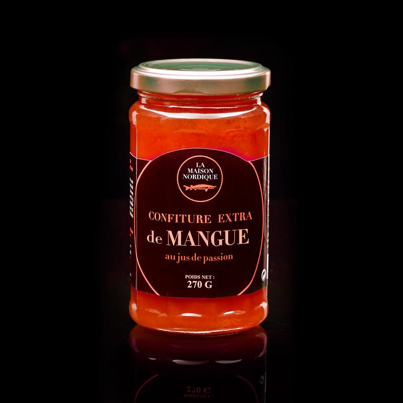 Confiture extra de Mangue au jus de passion - La Maison Nordique