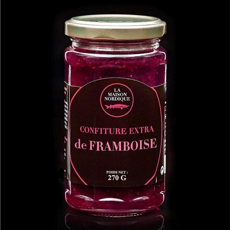 Confiture extra de Framboise - La Maison Nordique