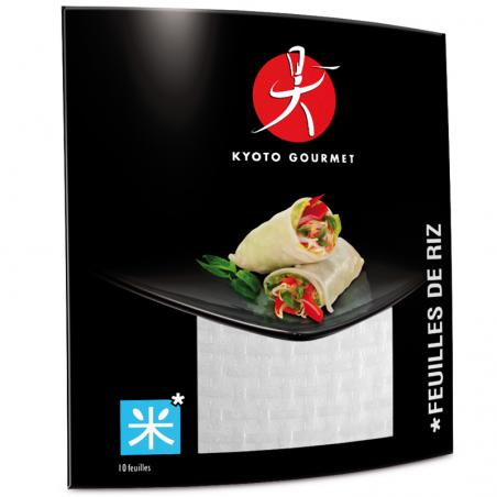 Feuilles de riz - Kyoto Gourmet