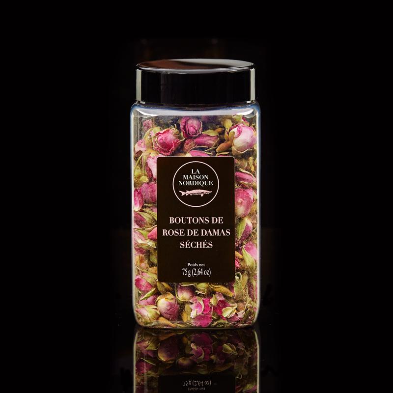 Bouton de Rose de Damas Séchés - La Maison Nordique