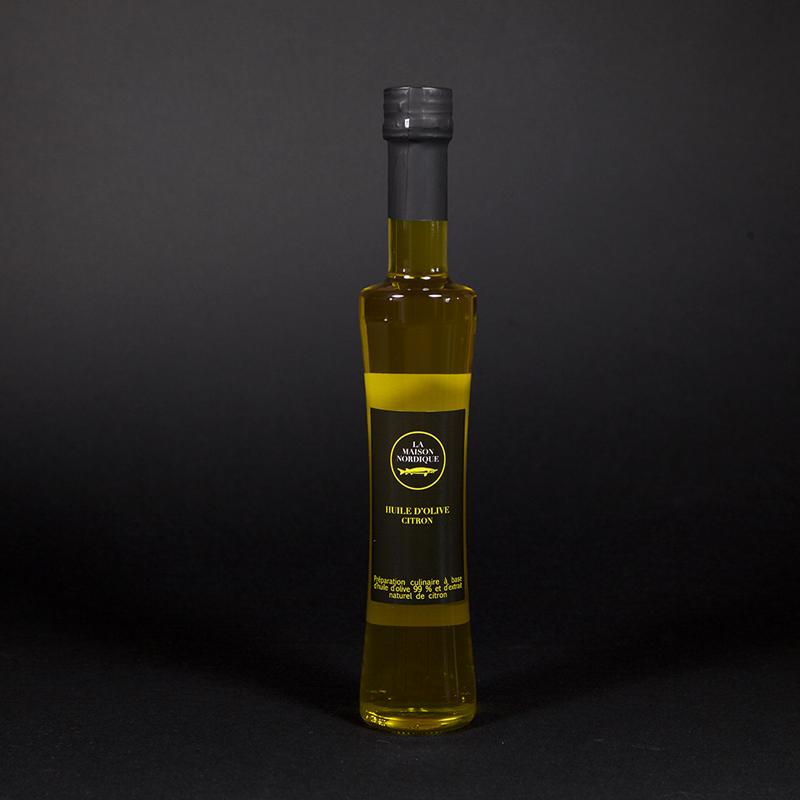 Huile d'olive citron - La Maison Nordique